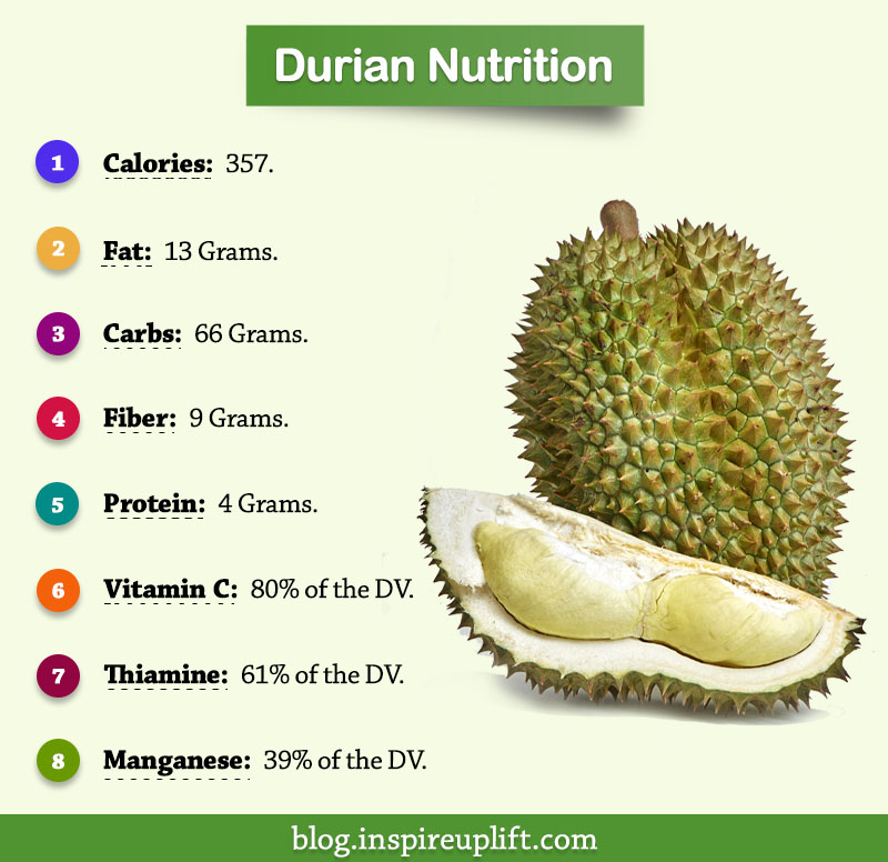Durian Nutrition Facts