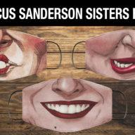 Hocus Pocus Sanderson Sisters Face Masks