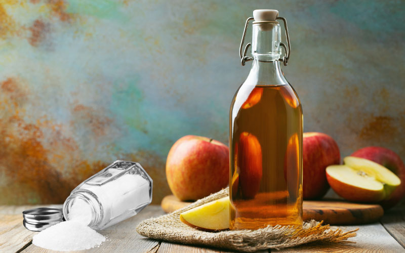 Recipe #3 – Apple Cider Vinegar & Salt