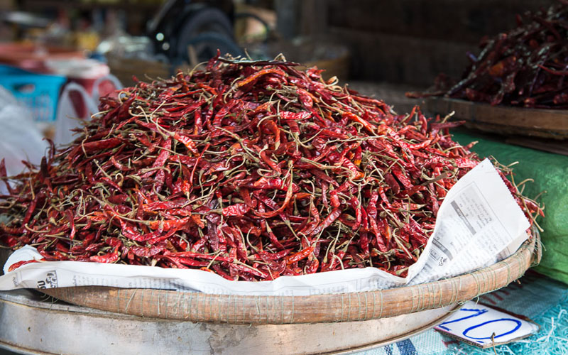 Thai Chili peppers (Whole & Dried)