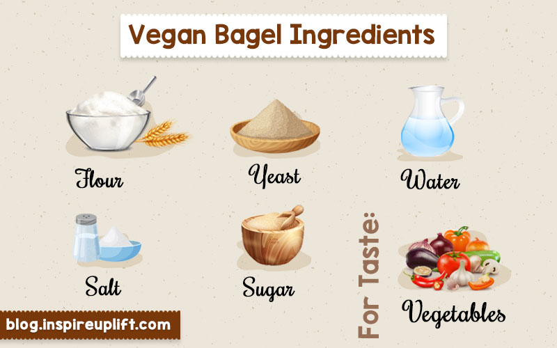 Vegan bagel ingredients