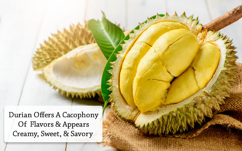durian taste