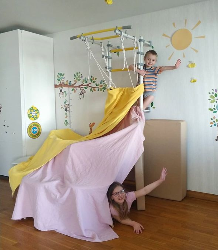 IKEA Quarantine Boredom Buster- Make 6 Different Furniture Forts!