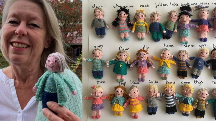 Lonely Teacher Knits Dolls Representing Each Of Her 23 Students