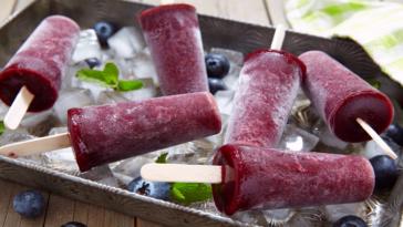 Sweet, Tart and Refreshing Elderberry Popsicles
