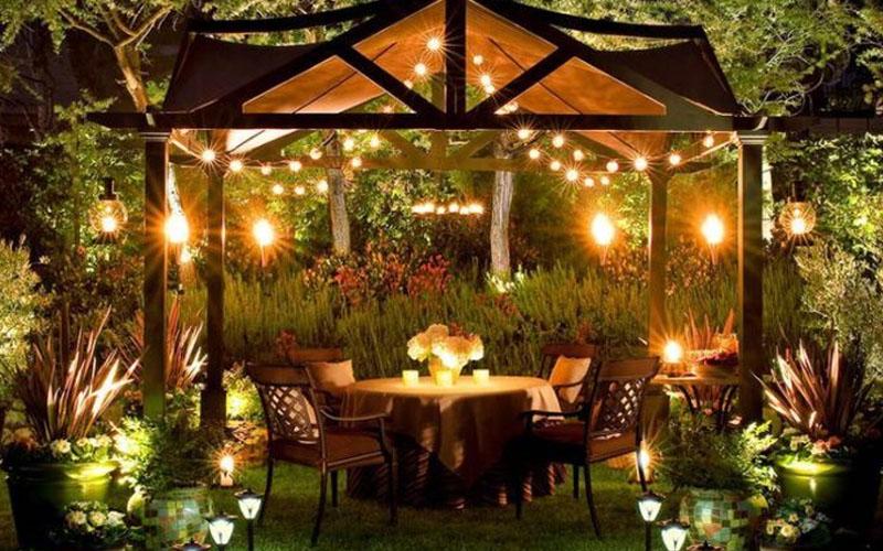 enchanting backyard pavilions