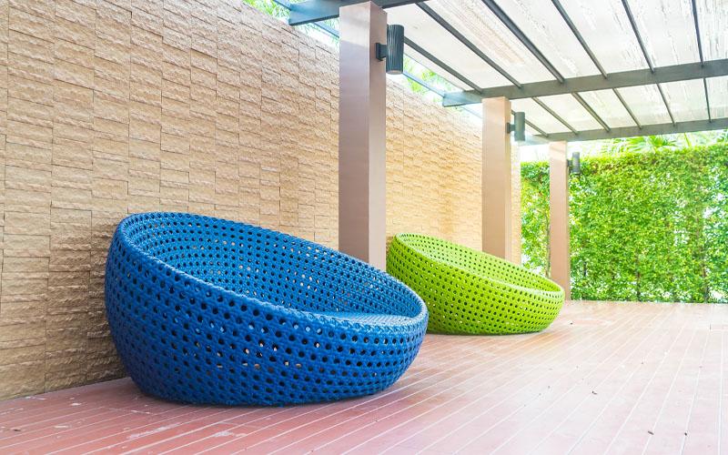 simplest sittings enriched backyard pavilion idea