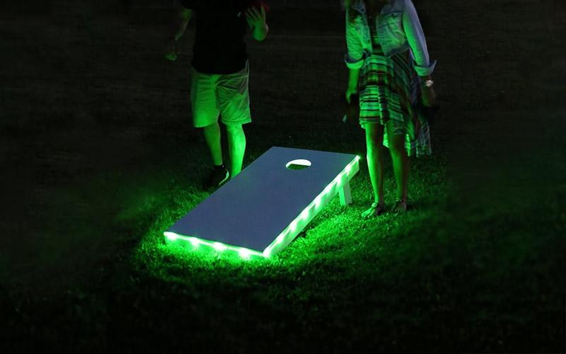16-in-1 LED Cornhole Board Lights