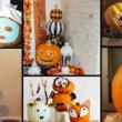 30 Spookastic No Carve Pumpkin Decorating Ideas for Fall & Halloween