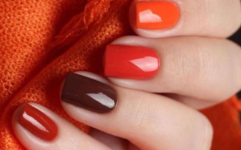 Fingers Celebrating Autumn