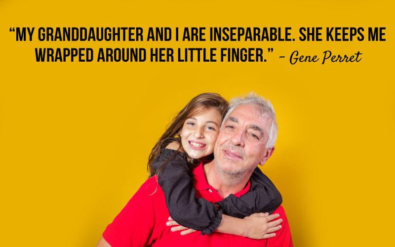 Grandpa and Granddaughter Sayings