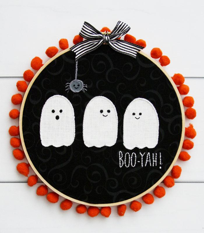 Halloween Boo-Yah Wreath