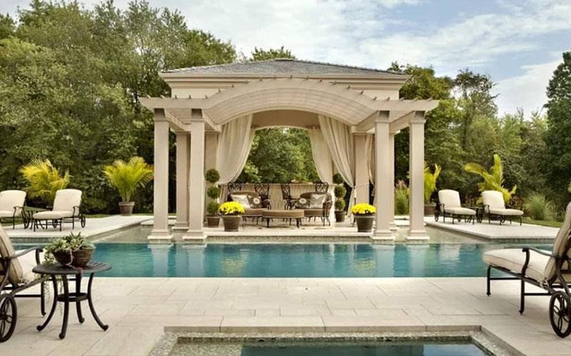 Luxury Pool Cabana