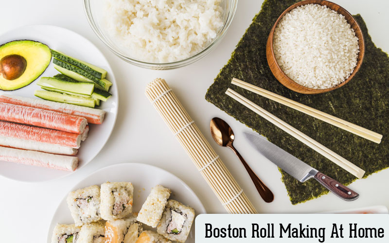 Maki roll easy recipe.