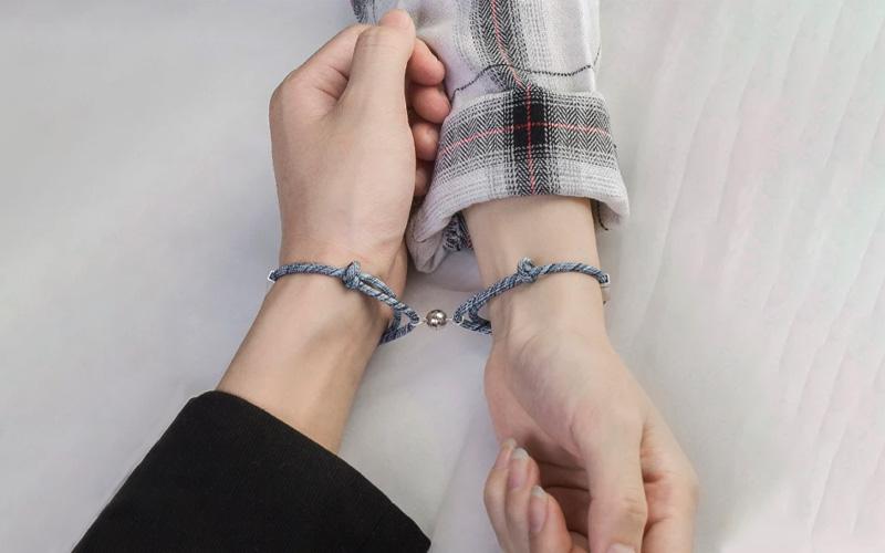 Matching Couple Magnetic Bracelet
