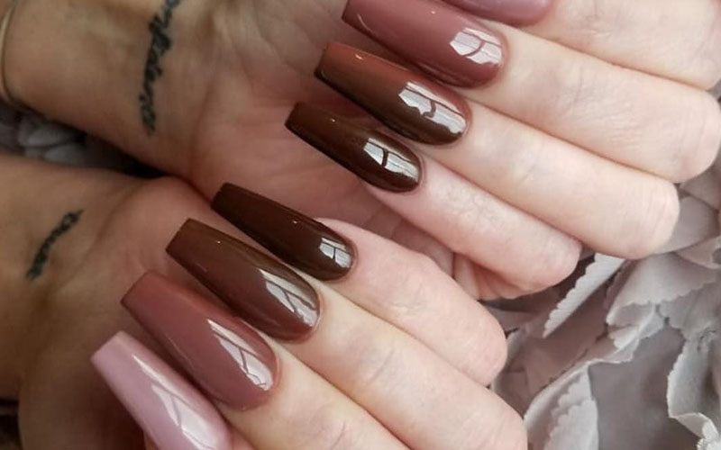 Simple and Sophisticated Fall Nails