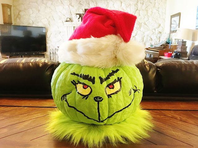 The Grinch Pumpkin