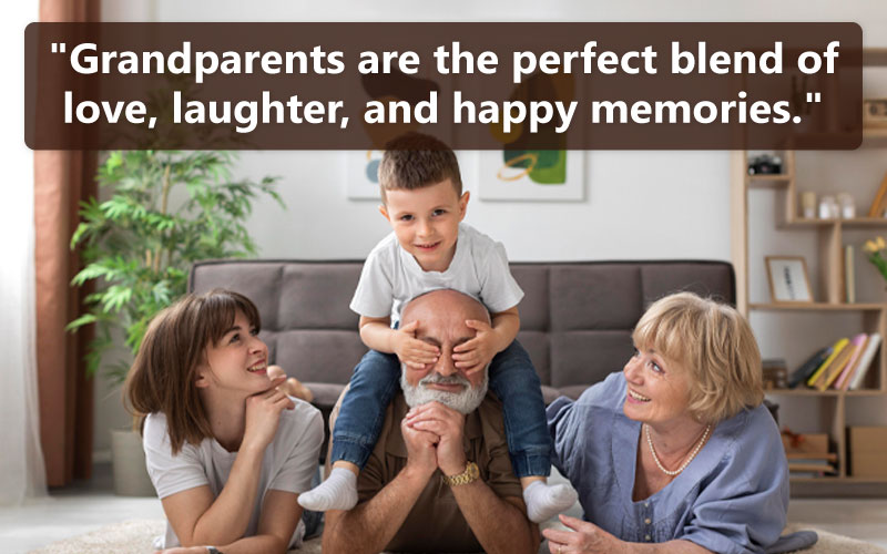Thoughtful Quotes About-Grandparents Love