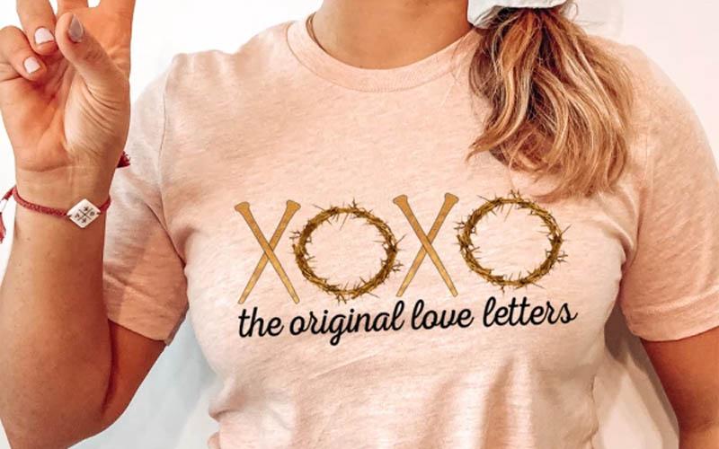 XOXO The Original Love Letters Tee
