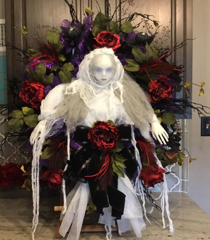 Zombie Apocalypse Halloween Wreath