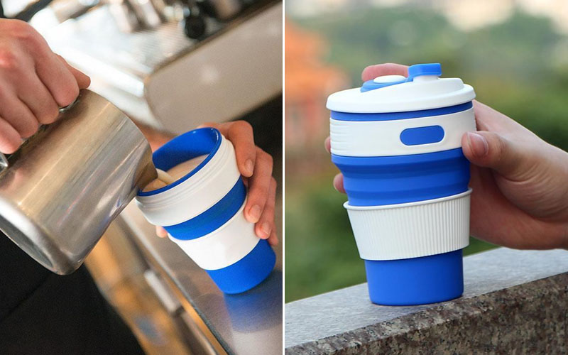 Eco Collapsible Foldable Coffee Cup