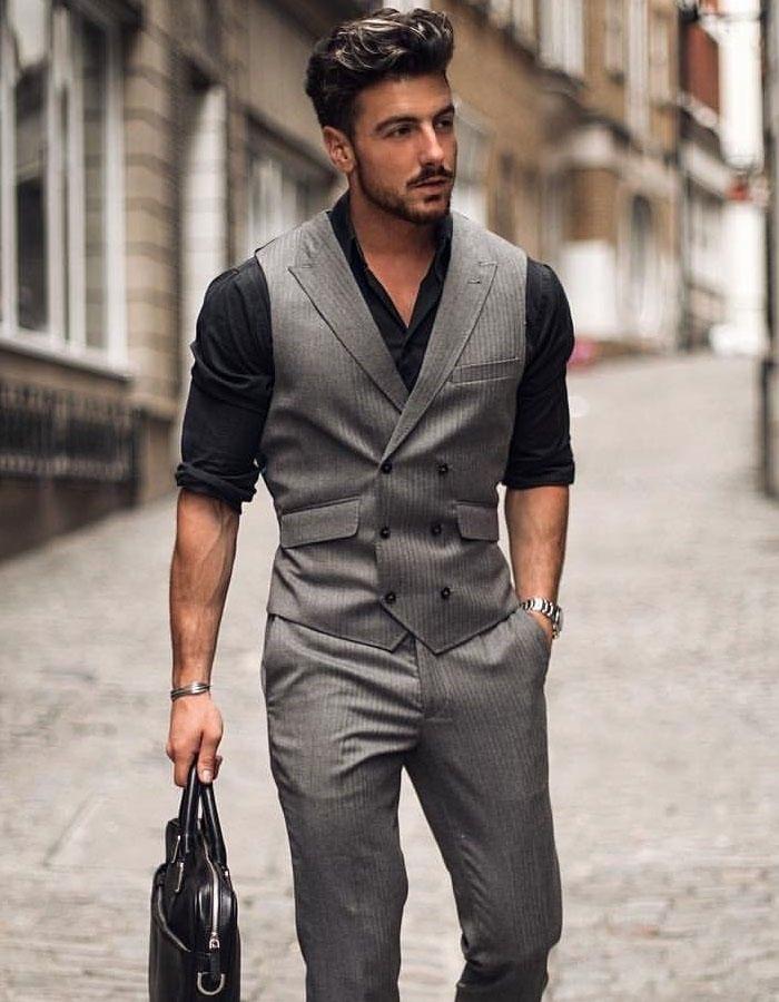 Lapelled Waistcoat