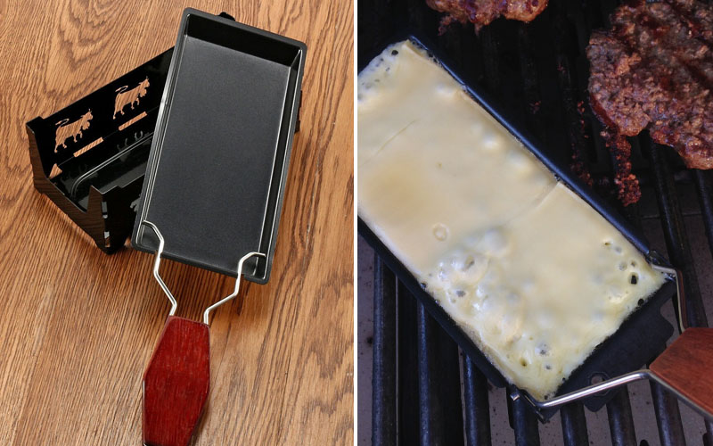 Mini Grill Cheese Raclette