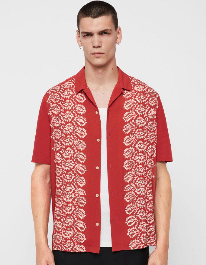 Panel Hawaiian shirts