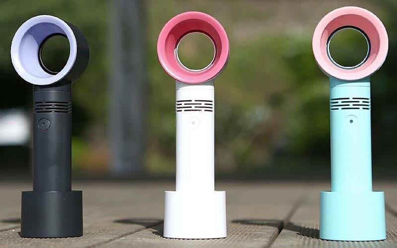 Portable Bladeless Desk Fan