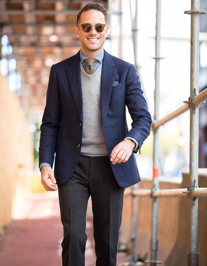 Three Piece Pullover Suit