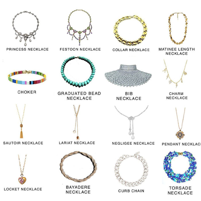 Types of Necklaces for women