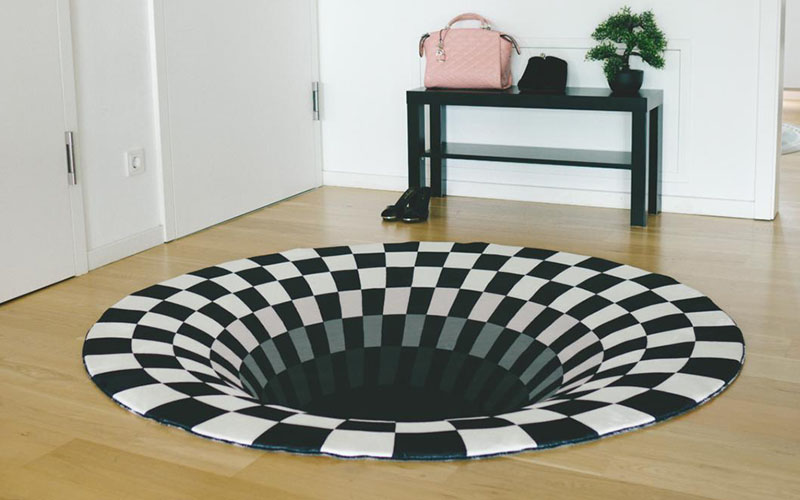 3D Optical Illusion Rug
