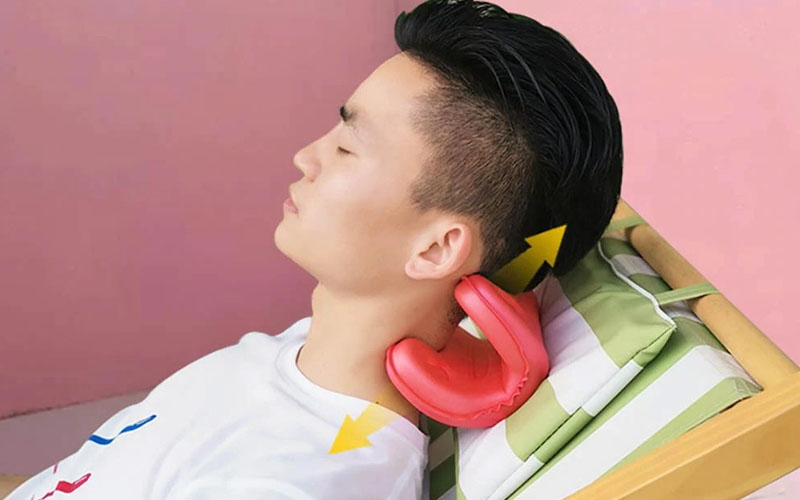 Innovative Necksaver Pro Neck Stretcher Pillow