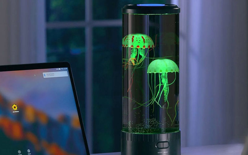 LED Jellyfish Lava Lamp & Aquarium For Kids & Adults