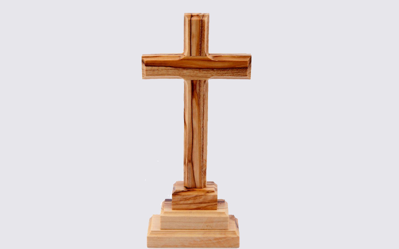 Olive Wood Hand Made Cross