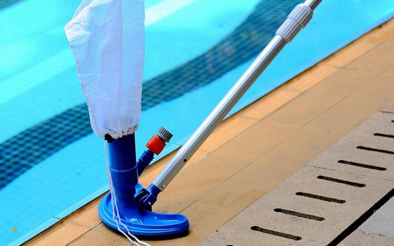 Pool Net Leaf Vacuum & Bagger