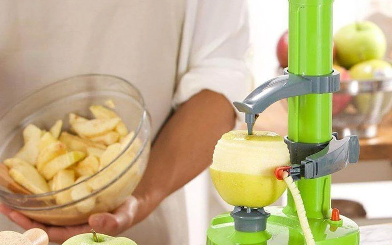 Stainless Steel Electric Fruit and Potato Peeler