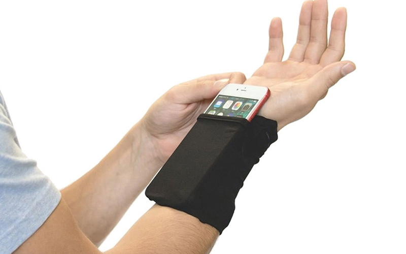 The Ultimate Wrist Wallet with Phone Pocket