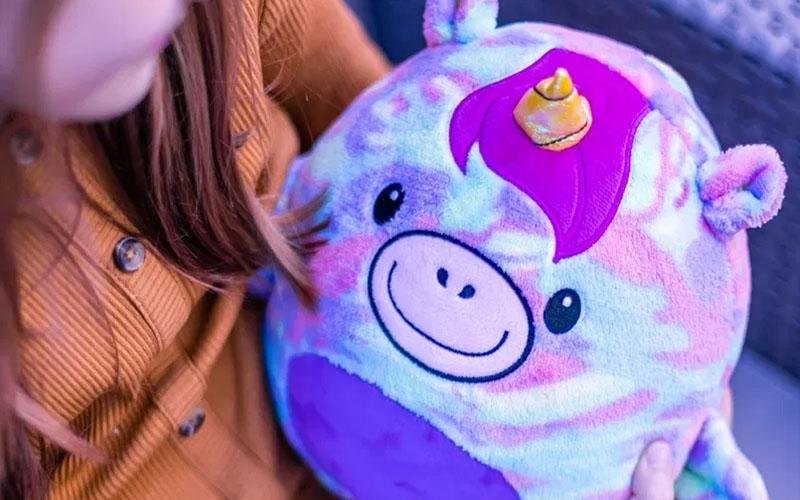 Ultra-Soft Animal Plush Toy & Hoodie