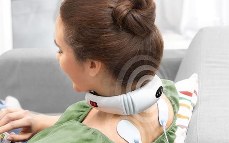 Wearable IR Neck Massager