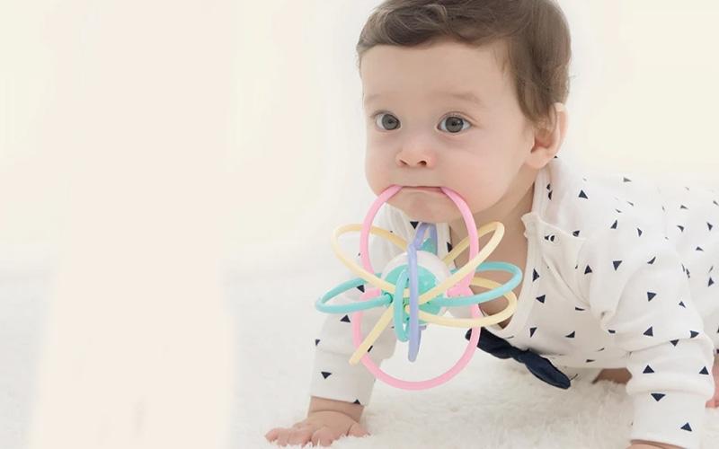 Flexible Baby Teether Ball