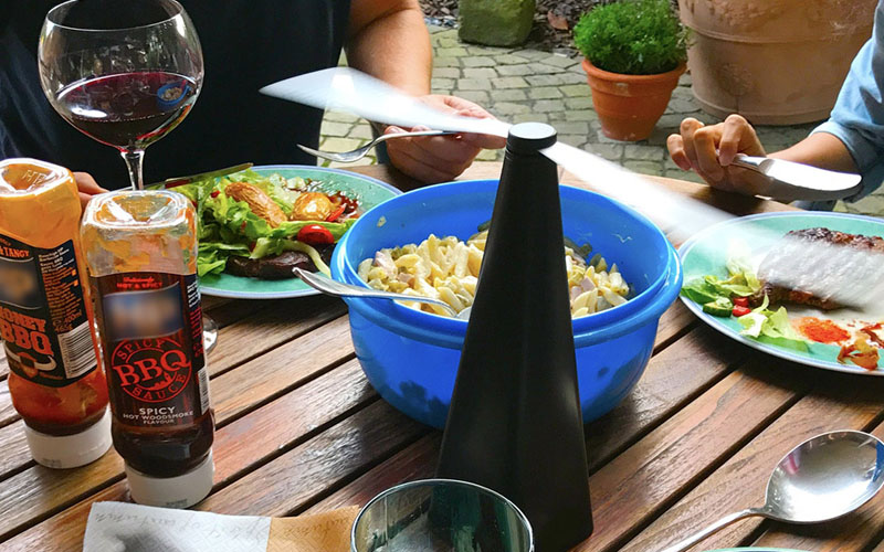 Refractive Fly Repellant Table Fan