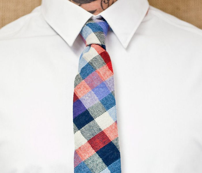 Checked or Plaid Ties