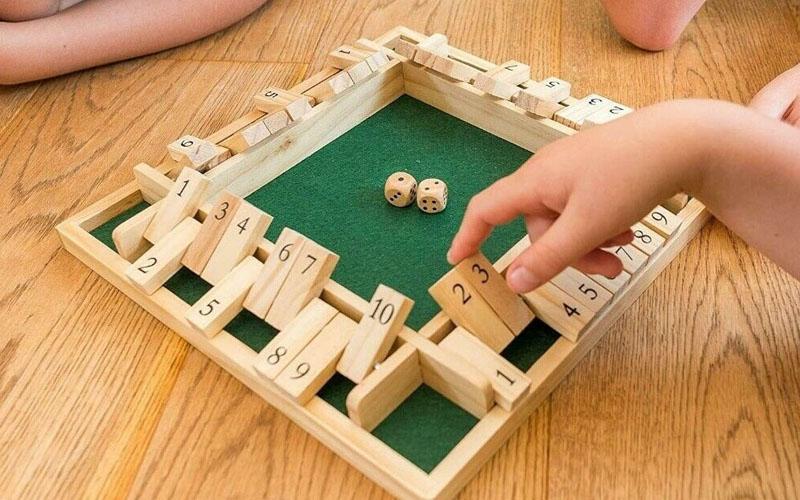 FlipBlock Wooden Board Game