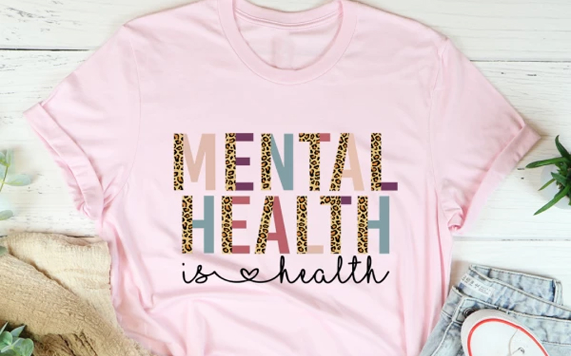 Mental Health Is Health Tee