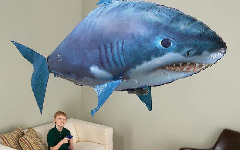 Remote Control Shark Balloon (Shark & Clownfish)