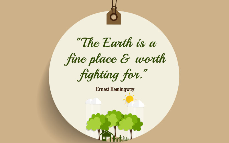 Save Environment & Protect the Earth Quotes