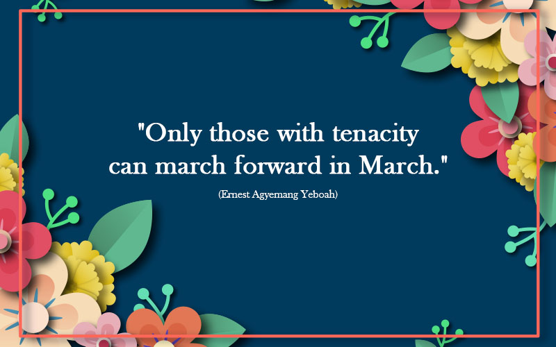 Spring Quotes of March2