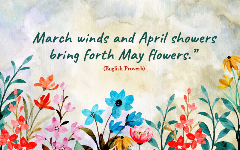 Spring Quotes of March3