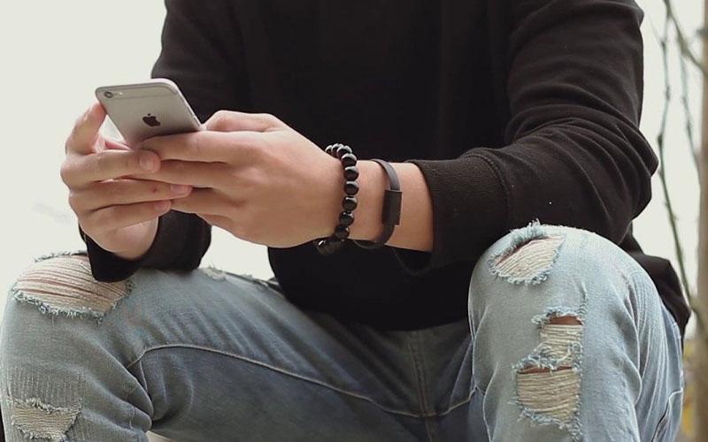 Beaded Charging Bracelet